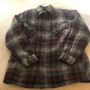 St. John's Bay Plaid Quilted Flannel